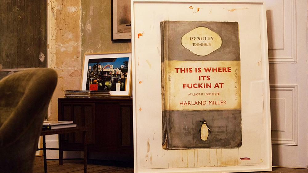 Harland Miller print