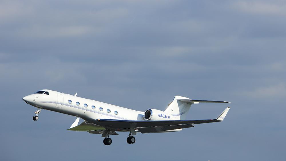 private jet coronavirus