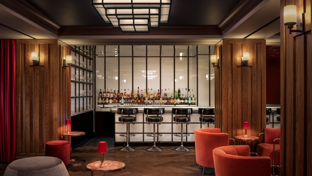 Riggs Washington DC hotel design