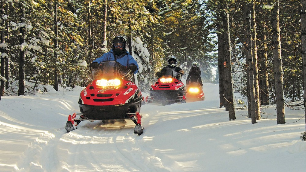 The Resort at Paws Up Montana winter activities