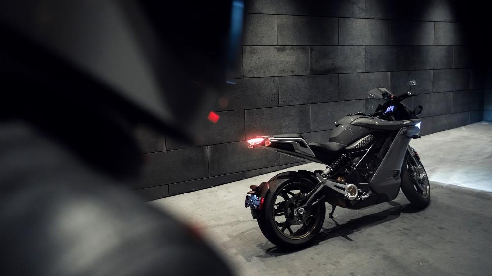 The Zero SR/S electric motorcycle