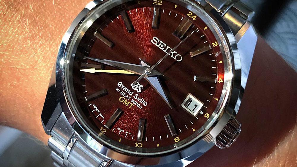 Grand Seiko Hi-Beat 36000 GMT SBJ201