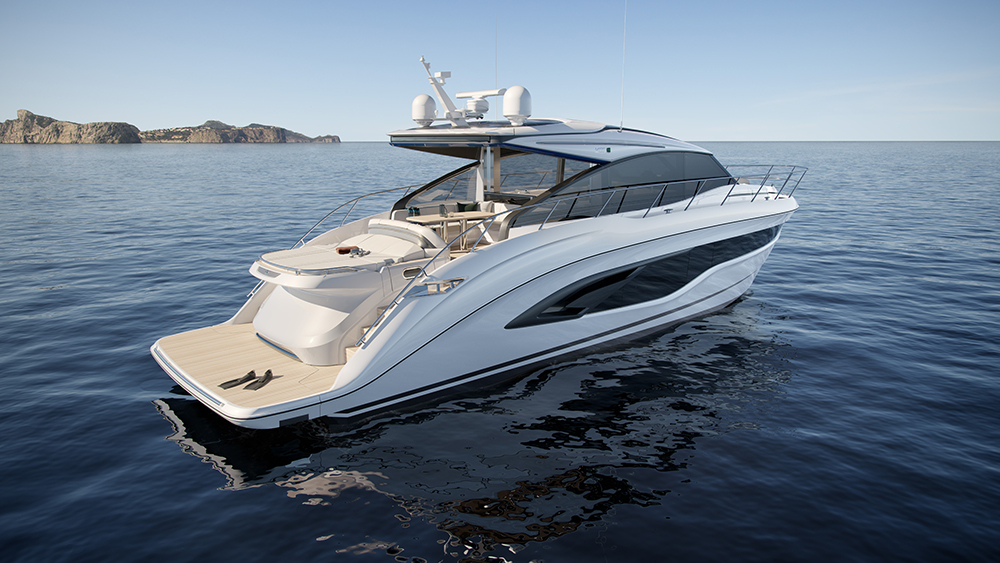 Princes Yachts V55