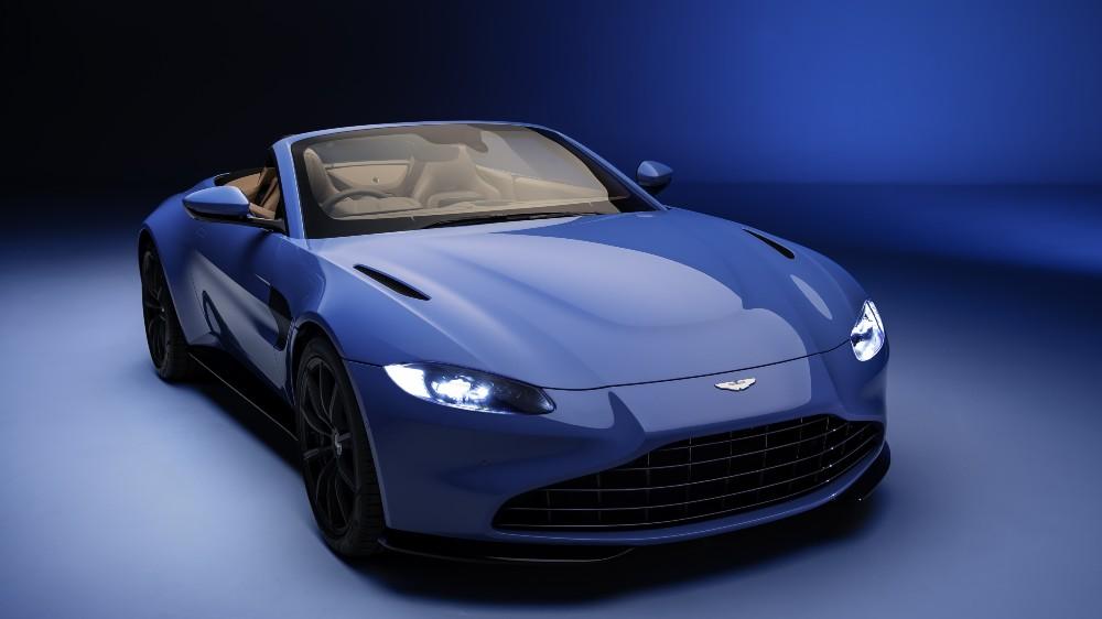 The Aston Martin Vantage Roadster