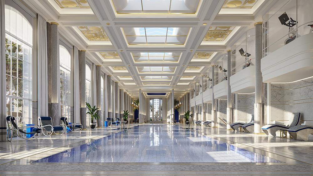 Waldorf Astoria Starlight Pool