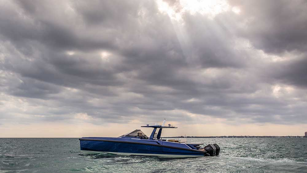 The Wally 48 Tender X in Miami