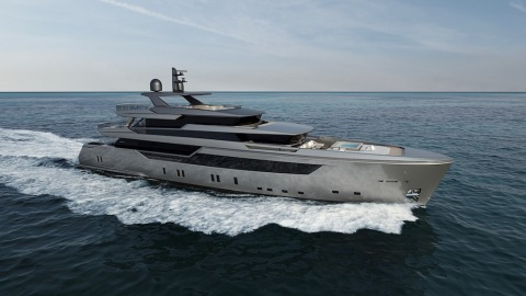Sanlorenzo 44Alloy superyacht