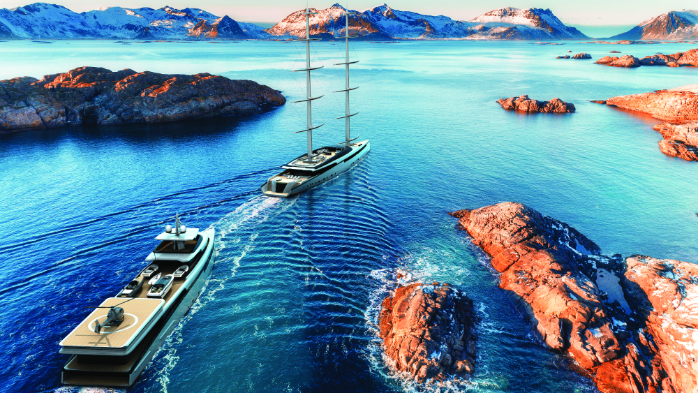 ThirtyC Project Lotus yacht