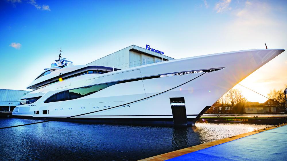 Feadship Arrow yacht