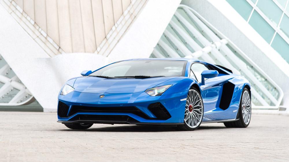 The Aventador S.