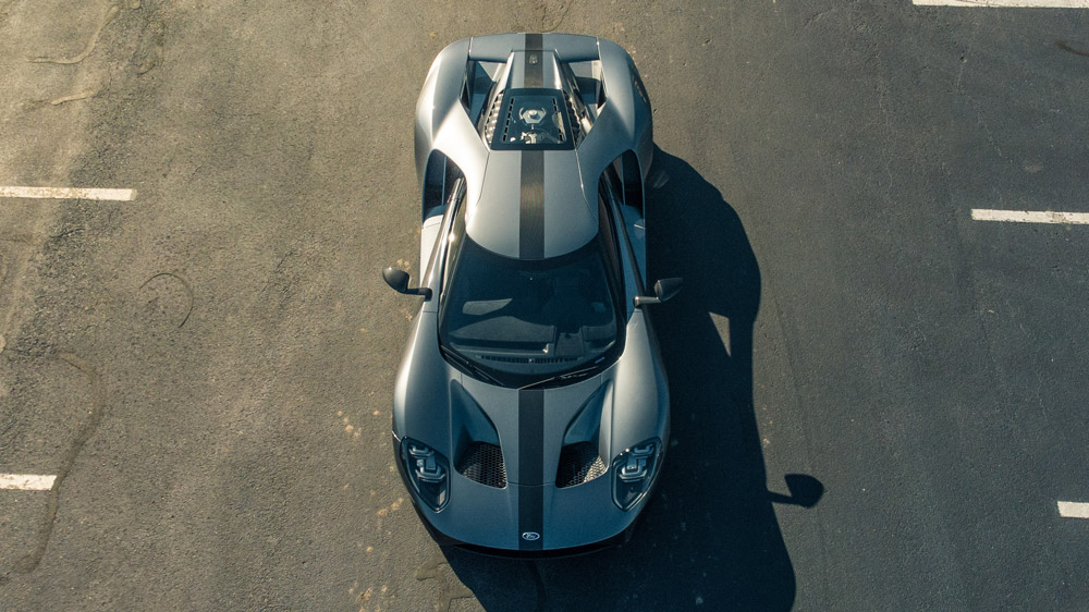 A Ford GT Competition Series.