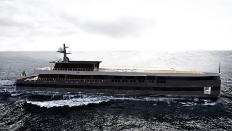 Anna Borla's Rossinavi Superyacht Concept Hide