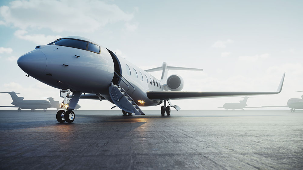 Private air charters have seen rising demand in coronavirus-impacted areas of Europe in the last two weeks.