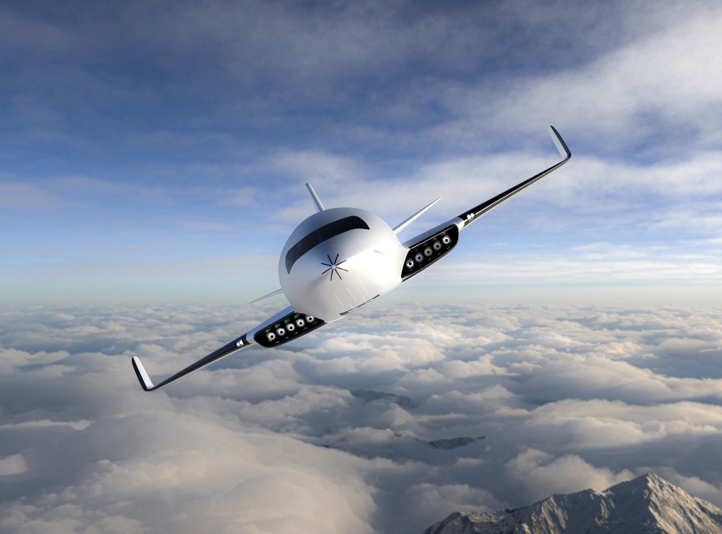 Aircraft that is powered by friction