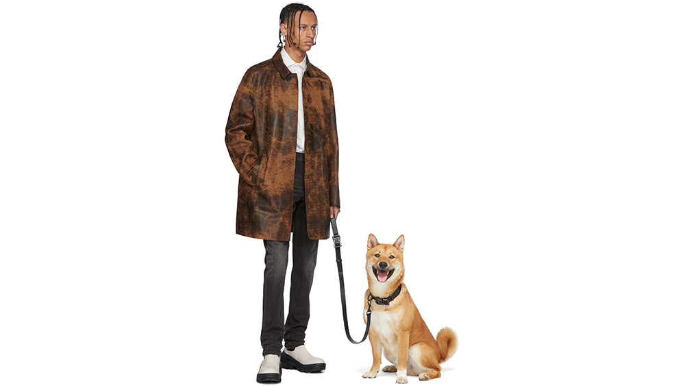 1017 ALYX 9SM Black Dog Collar and Leash