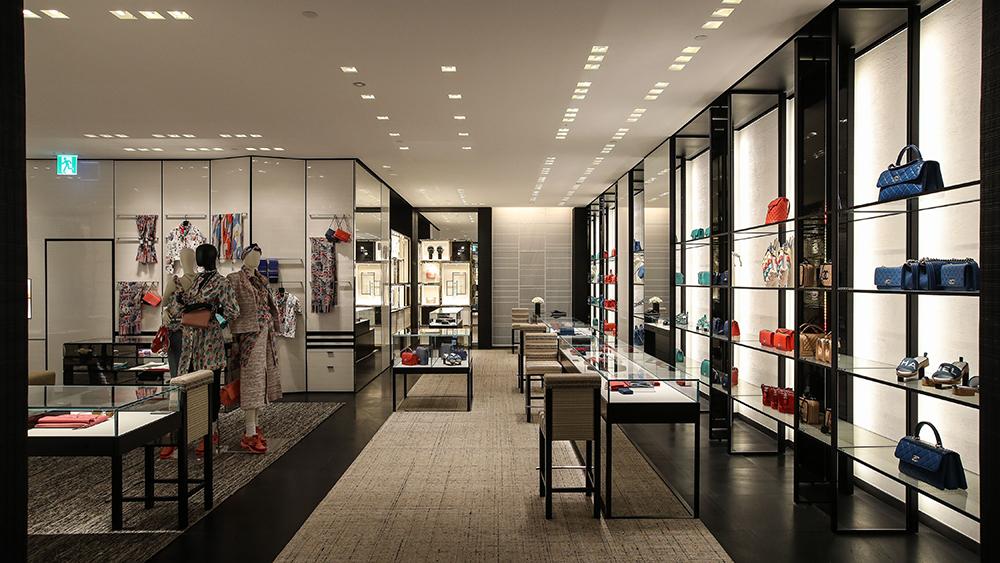 Chanel store interior