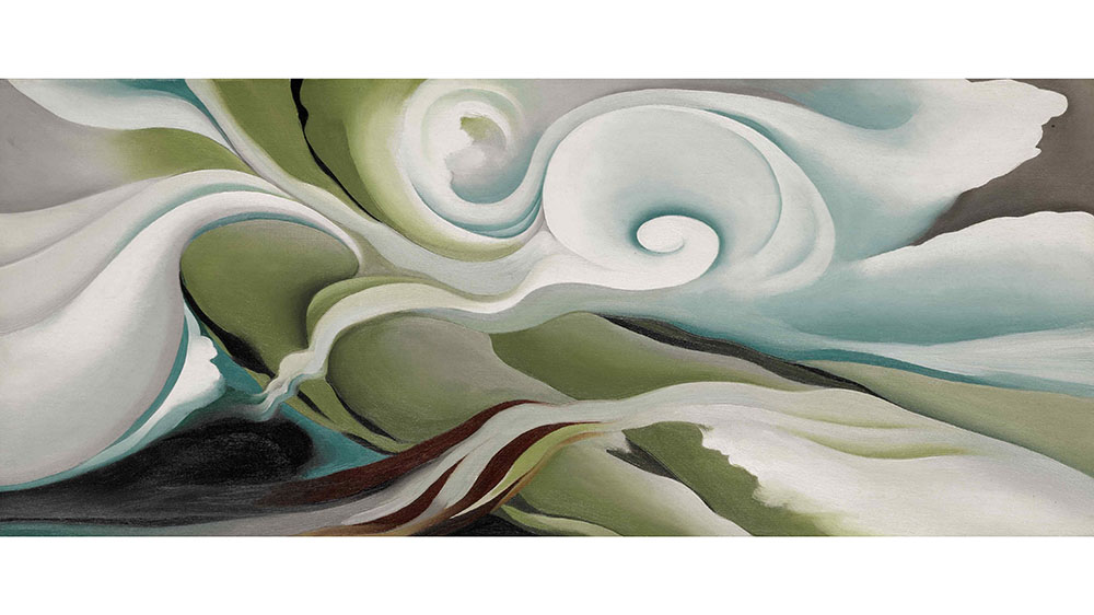 O'Keeffe, Nature Forms—Gaspé, 1932