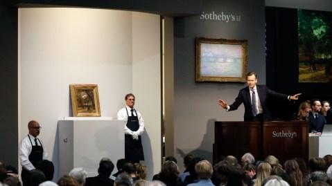 Sotheby's coronavirus
