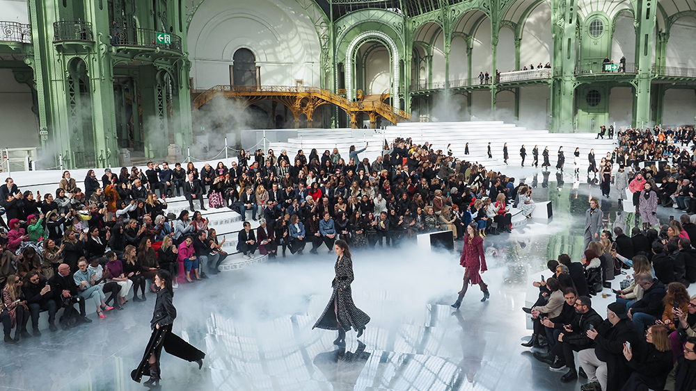 Chanel runway show