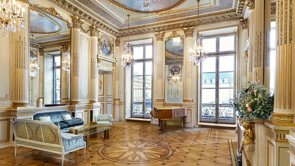 Chaumet's Paris Boutique
