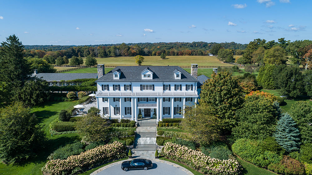 Calvin Klein co-founder's $100m equestrian estate.