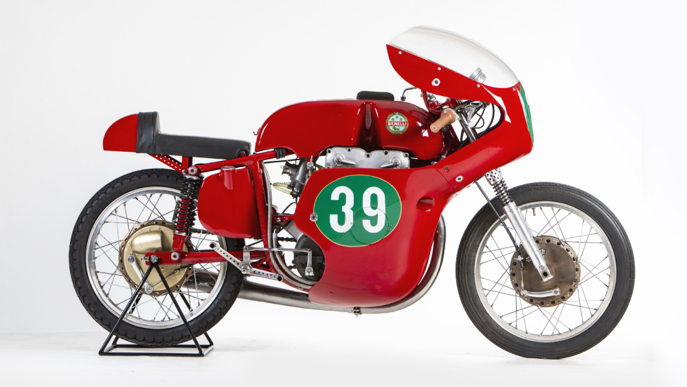 1959 Benelli 250 Bialbero GP Mono motorcycle