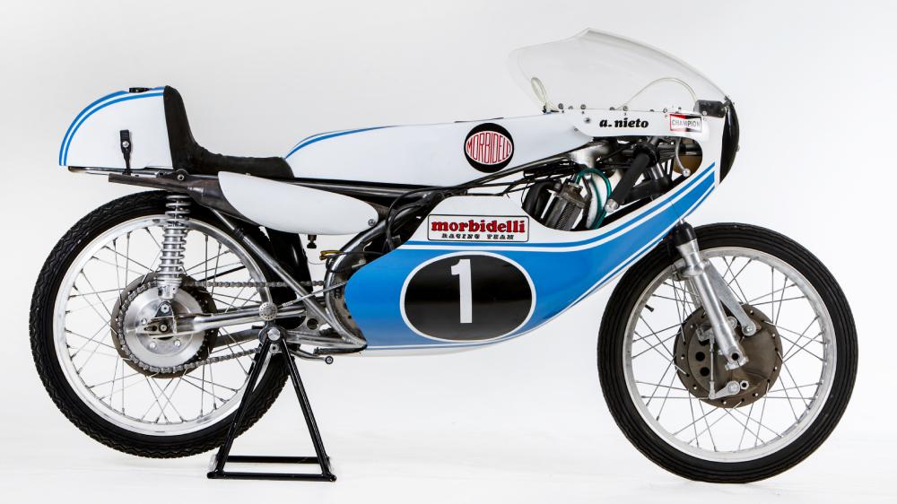 1973 Morbidelli 125cc GP motorcycle