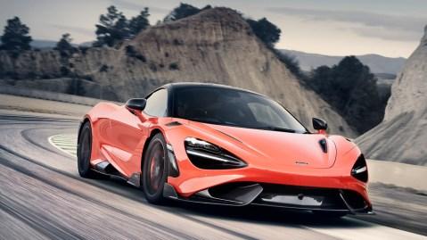 The McLaren 765LT.