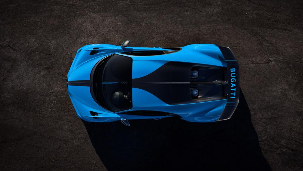 The Bugatti Chiron Pur Sport.