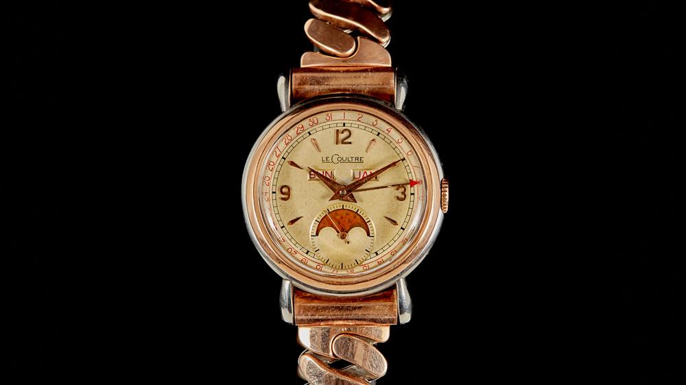 Jaeger-LeCoultre Triple Calendar Moonphase 1940s Watch