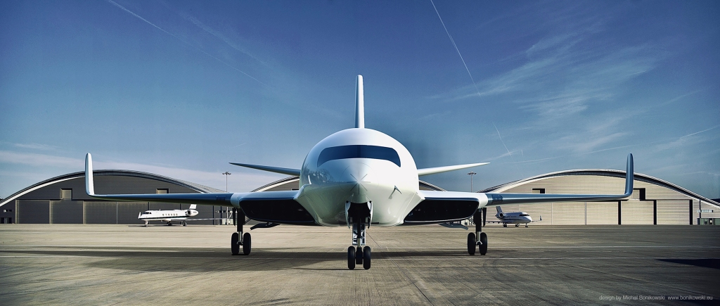 Business Jet is Powered by Air Friction