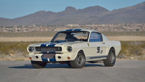 The 1965 GT350R Prototype driven by Ken Miles.