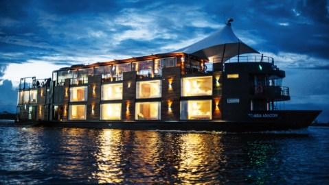 Uniworld Amazon river cruise