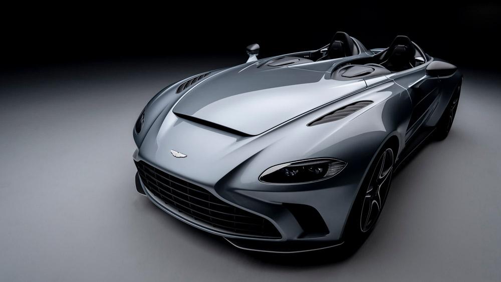 The Aston Martin V12 Speedster.
