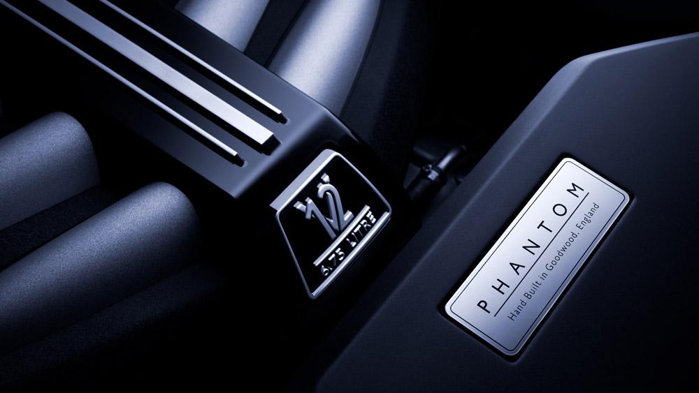 The V-12 engine of Rolls-Royce's flagship Phantom model.