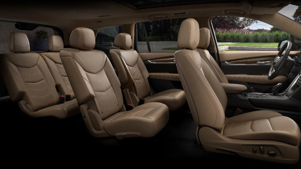 Inside the 2020 Cadillac XT6.
