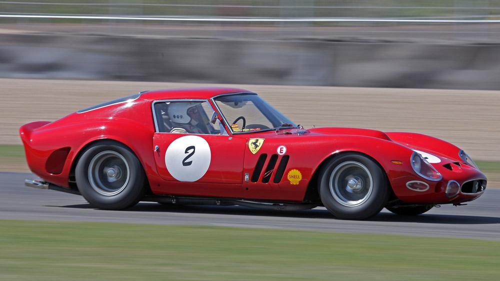A 1962 Ferrari 250 GTO.