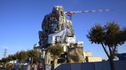 Frank Gehry LUMA Arles tower
