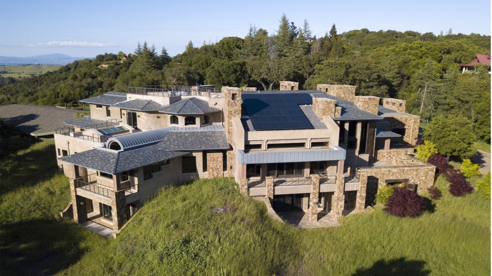 Mansion, Bunker, California