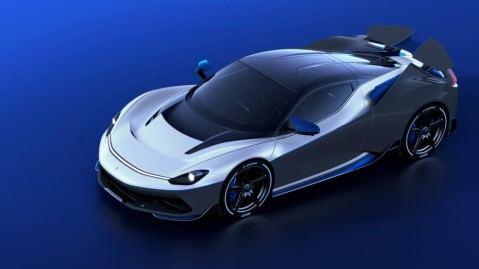 The Pininfarina Battista Aniversario electric hypercar