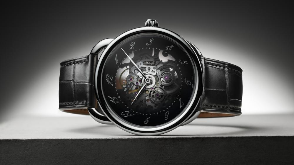 Hermes Arceau Squelette watch