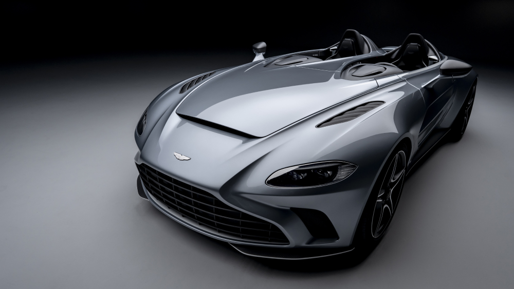 Aston Martin S New Open Cockpit V12 Speedster Has No Need For A Roof Robb Report