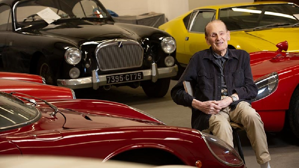 Nicholas Begovich and his collection of classic sports cars