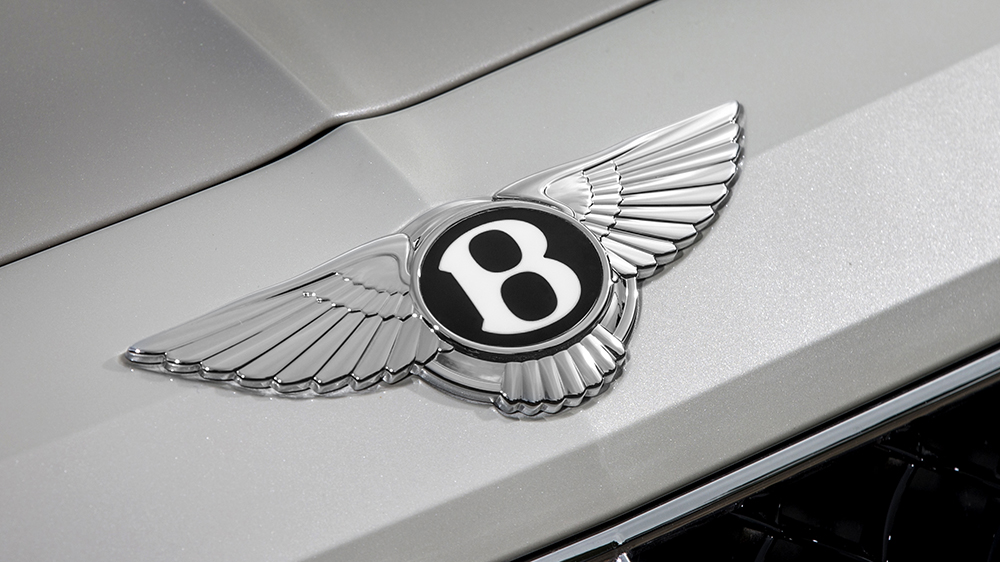 The Bentley badge