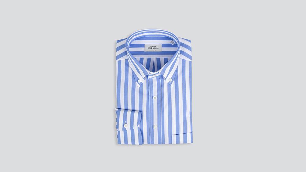 Berg & Berg striped shirt