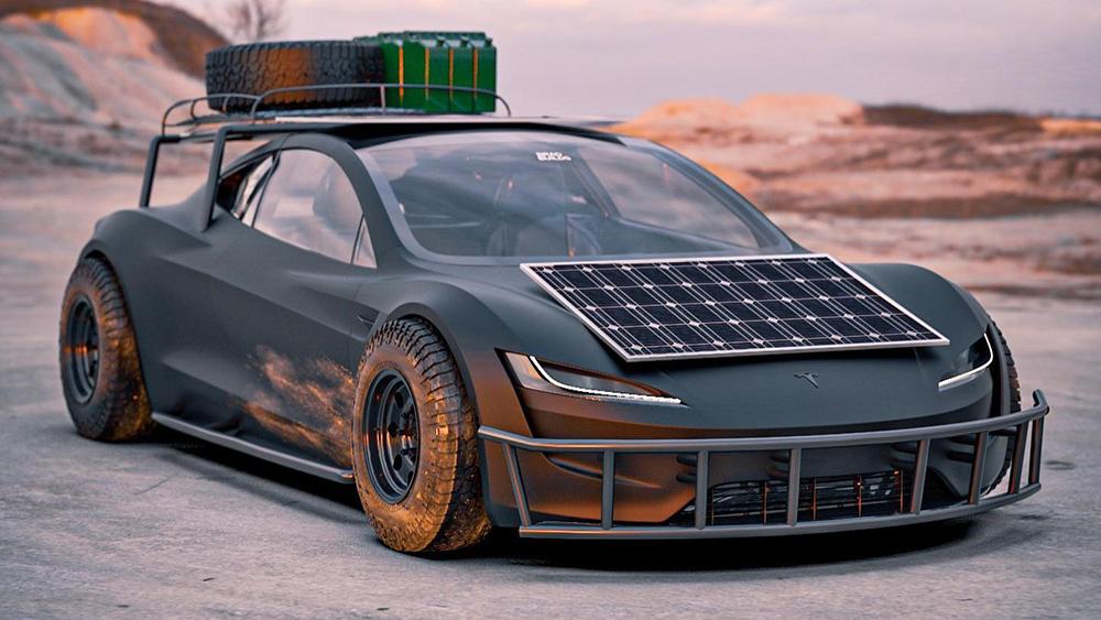 Tesla Roadster Safari Concept