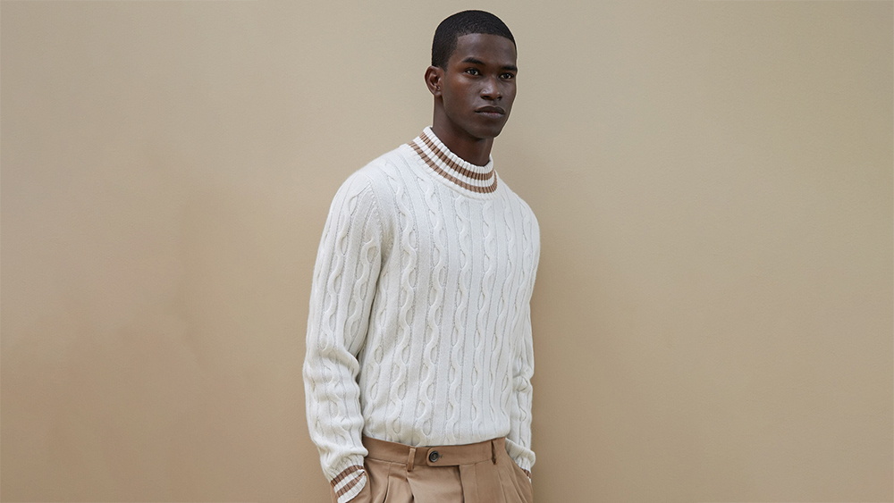 Brunello Cucinelli High Neck Sweater