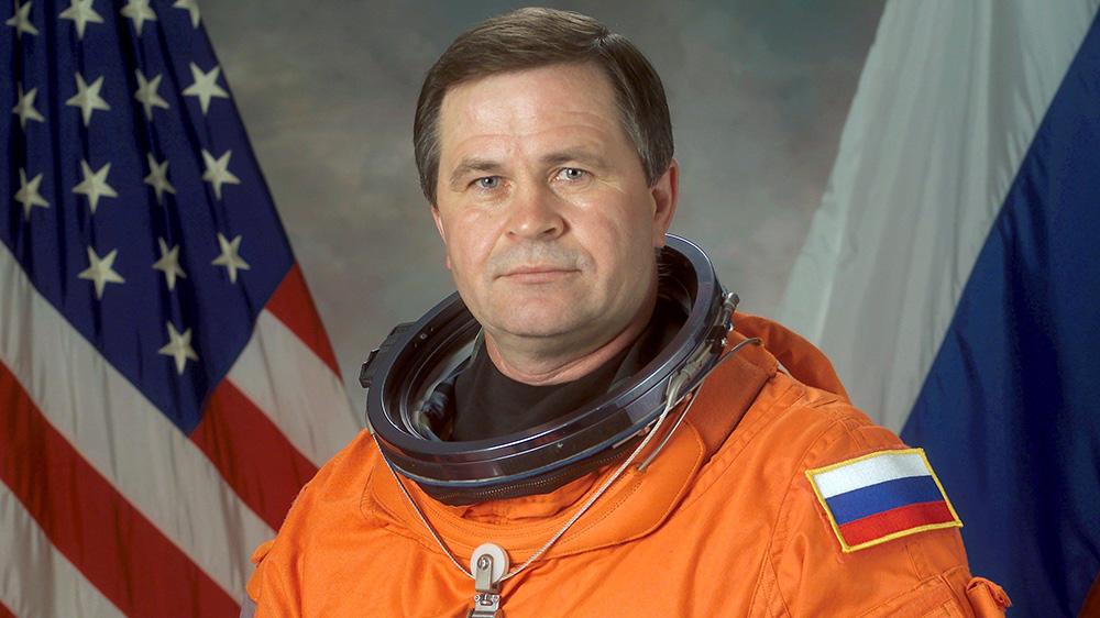 Cosmonaut Nikolai Budarin in 2002