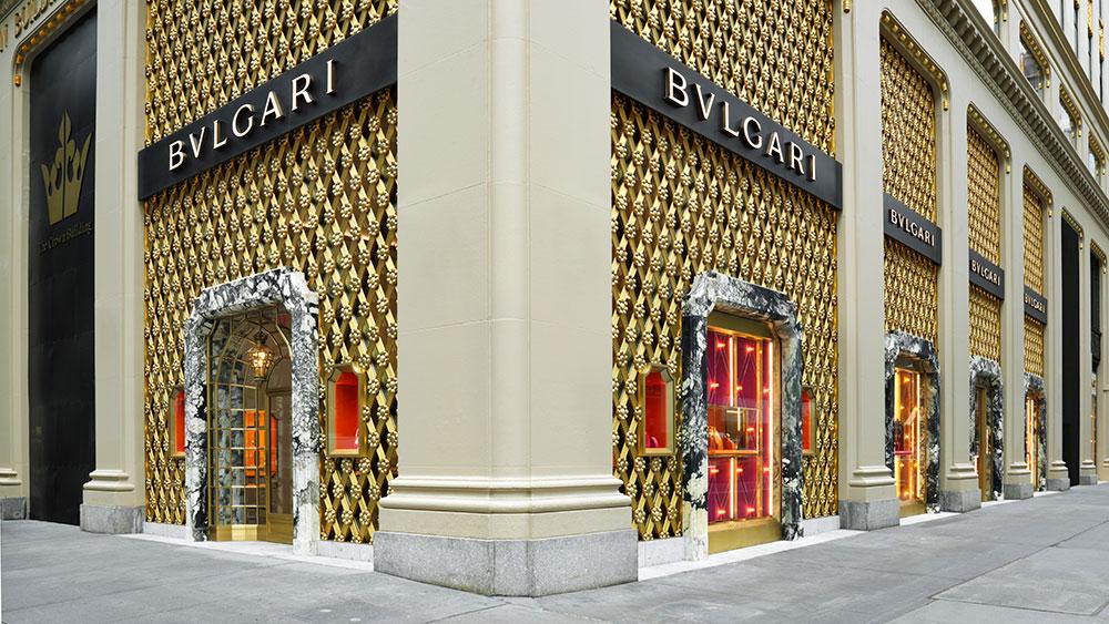 Bulgari NY facade by Gionata Xerra