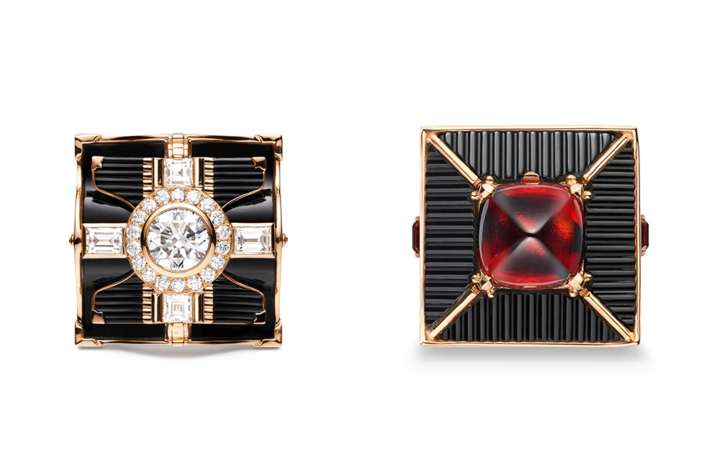Chaumet Sakura and Madame Butterfly Rings